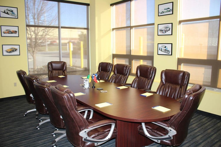 Bluegrass Karting conference room