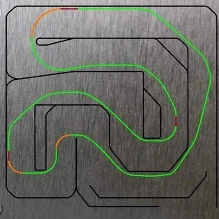 Louisville Racing - BIK track map