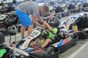 Louisville Racing - Kosair Charities Race-a-Thon: Capable2Kart
