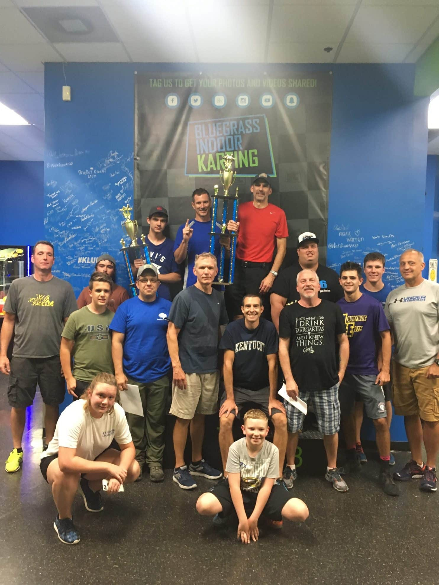 Bluegrass Indoor Karting Louisville Endurance Races