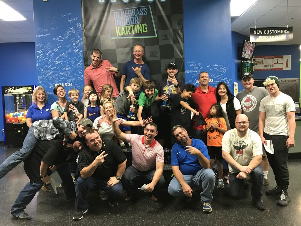 Bluegrass Indoor Karting Corporate Outings Louisville KY